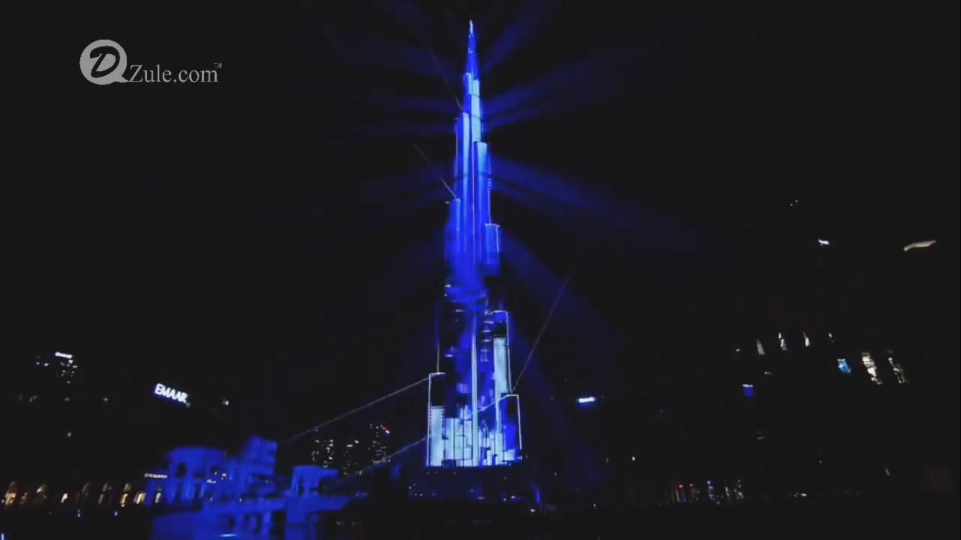 Test Ánh Sáng  Tòa nhà cao nhất Việt Nam  Landmark 81 & Burj Khalifa -  [ Light Show Testing ]